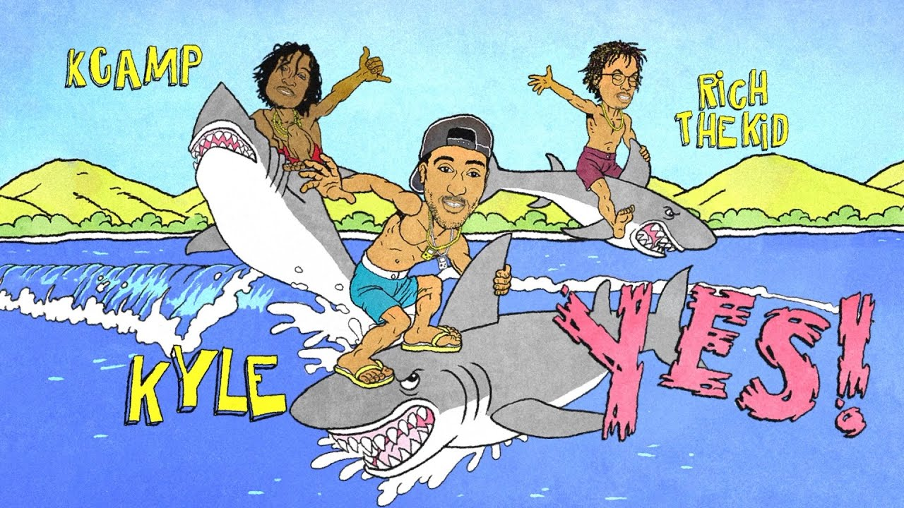 KYLE – YES! feat. Rich The Kid & K CAMP [Lyric Video]