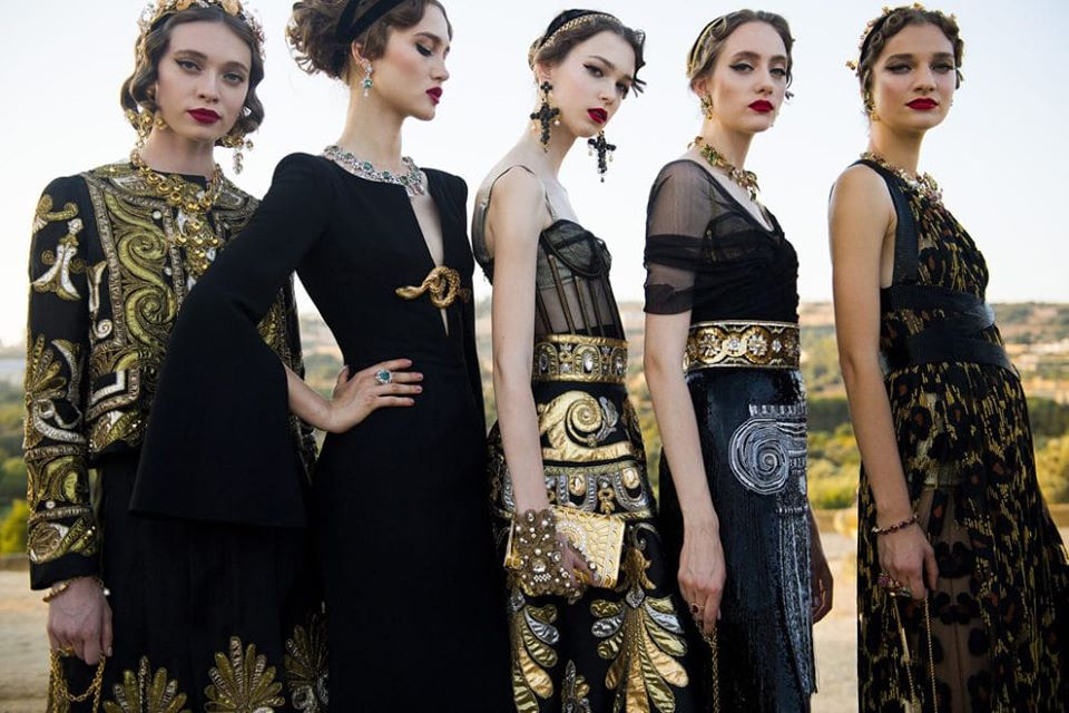 Dolce&Gabbana Alta Moda, Valley of the Temples, July 2019