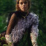 Vestido con cristales de Miley Cyrus