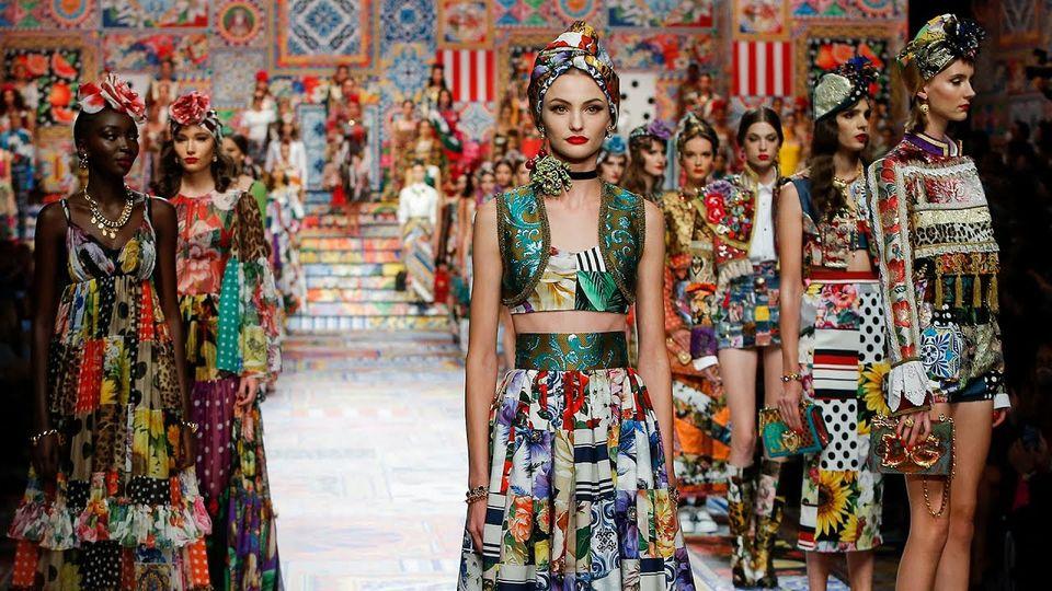 Primavera Verano 2021 de Dolce & Gabbana Women