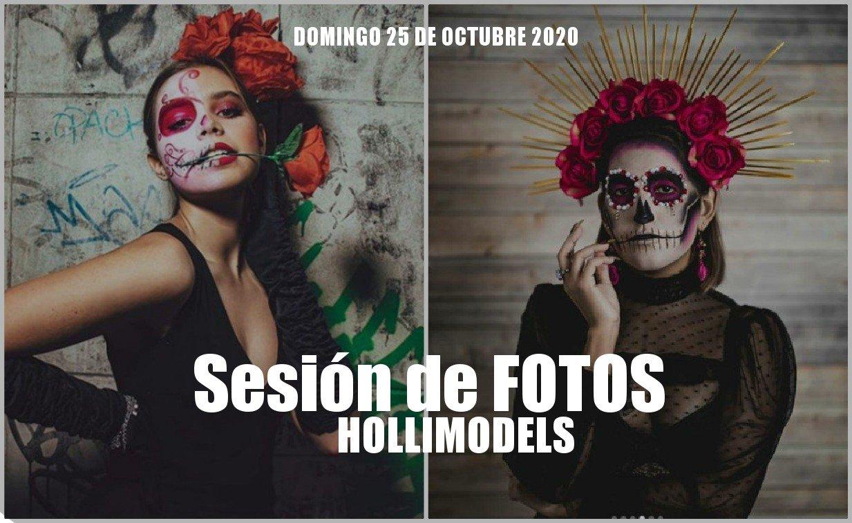 Sesión de fotos con temática Noviembre Halloween 2020