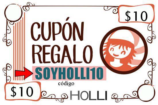SER HOLLI ES CHIDO GANA 10 HOLICOINS
