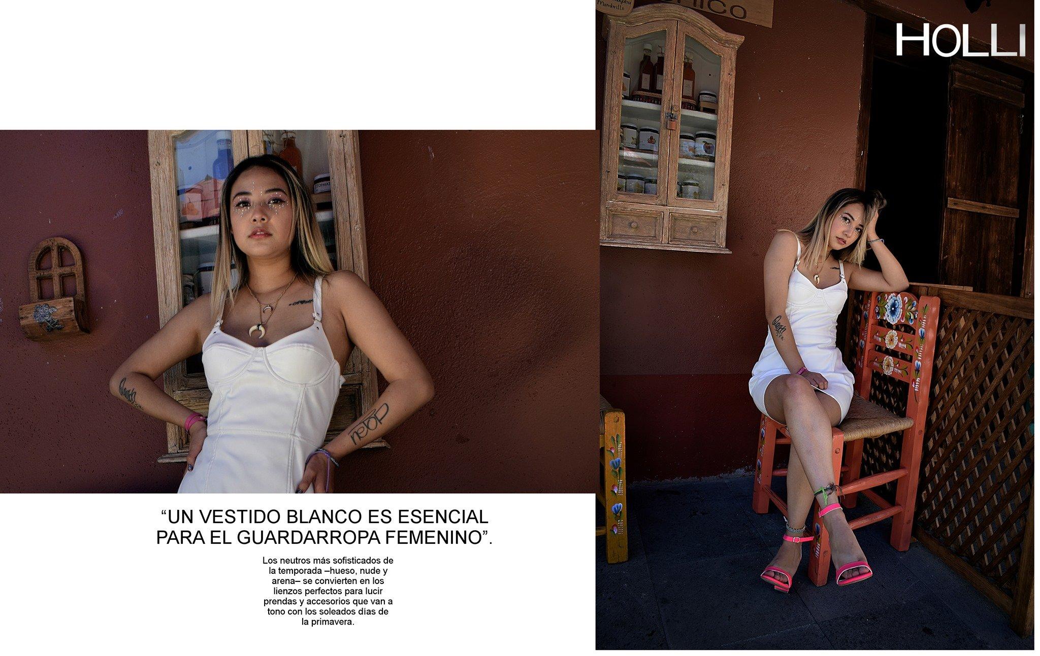 Fotos para revista Holli Diciembre Modelo Melanie