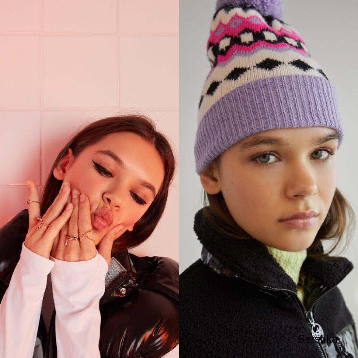 Casting modelando ropa de Bershka Enero 2021