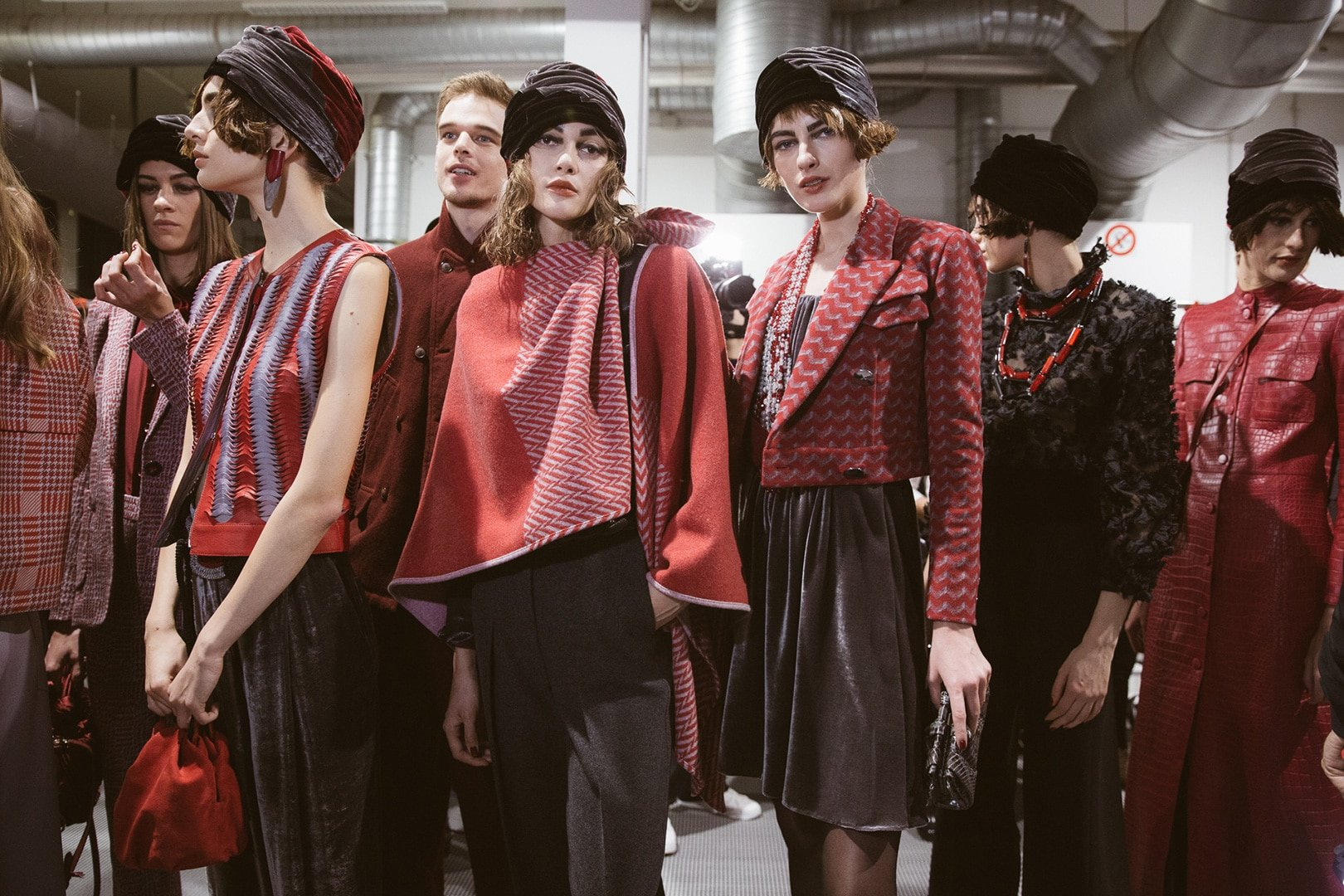 Giorgio Armani Pre-Fall 2020-2021 Fashion Show