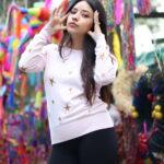 La modelo mexicana Karen Segoviano