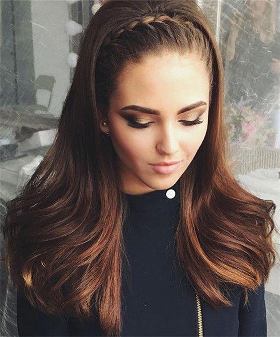 Peinados con el cabello suelto