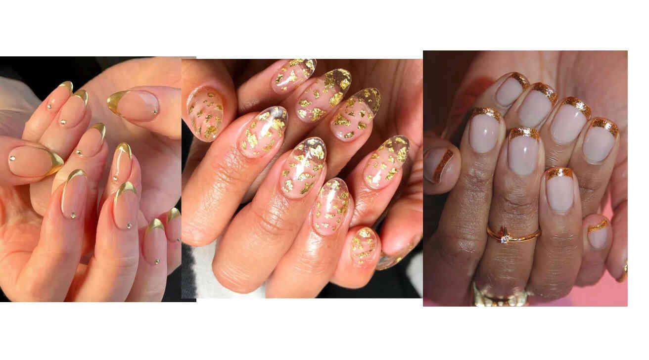 Las uñas doradas regresan para darnos brillo en este verano 2021