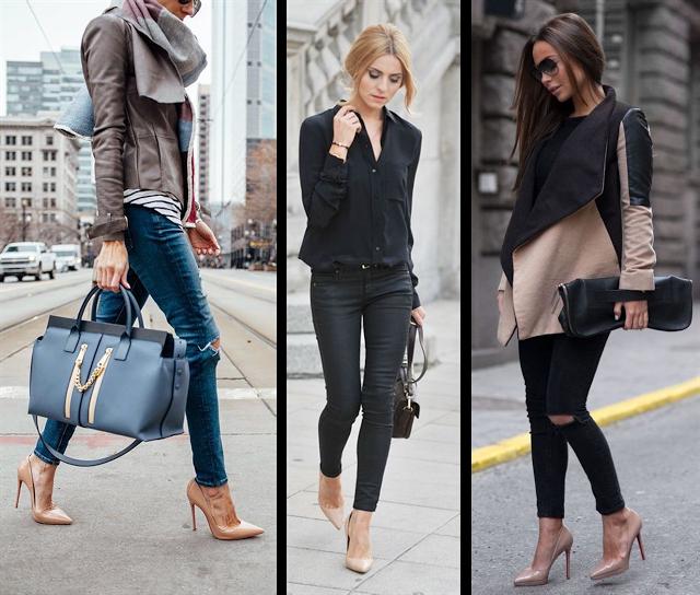 Tipos de tacones para hacer 'match' con tus jeans favoritos