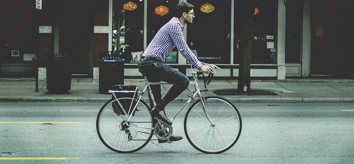 A great way to do it is to start cycling at least 30 minutes a day