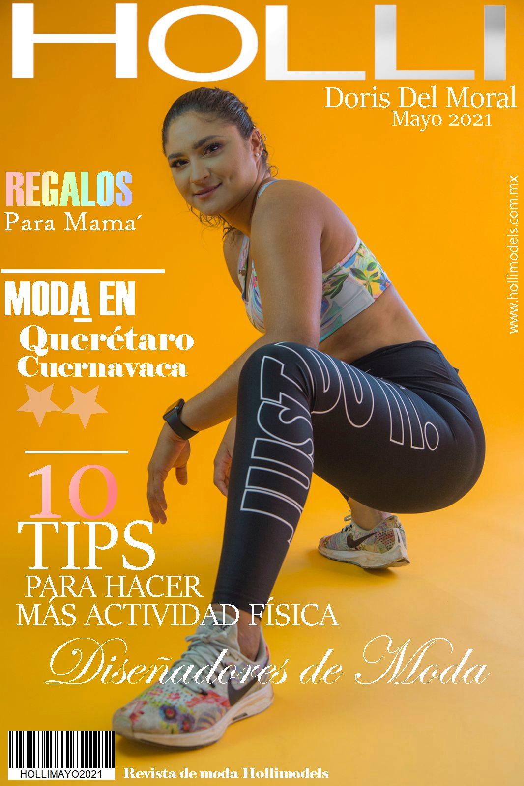 Revista Hollimodels Mayo 2021 – En portada Doris Del Moral