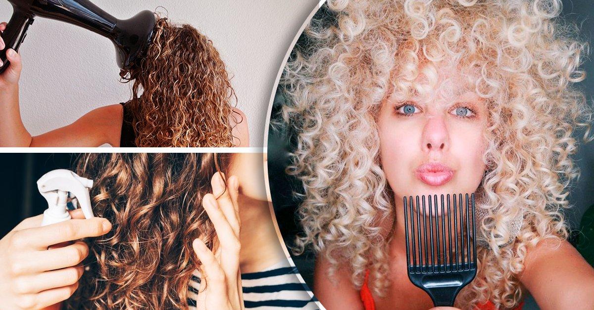 Trucos que te salvarán la vida para evitar el cabello esponjado
