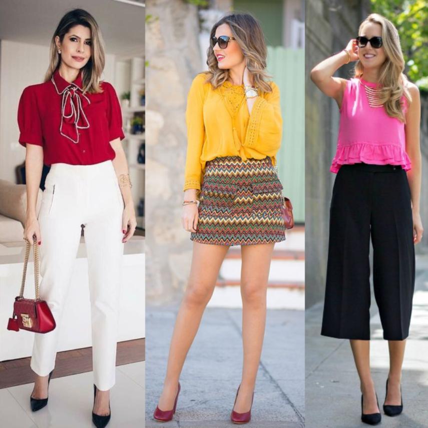 Colores para llevar cada día de la semana en tu outfit.
