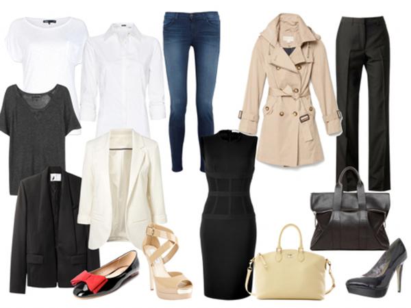 Prendas básicas que no deben faltar en tu guardarropa para estar a la moda.