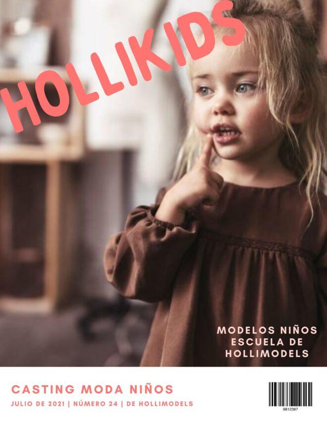 Casting modelos niños para revista Hollikids Julio 2021