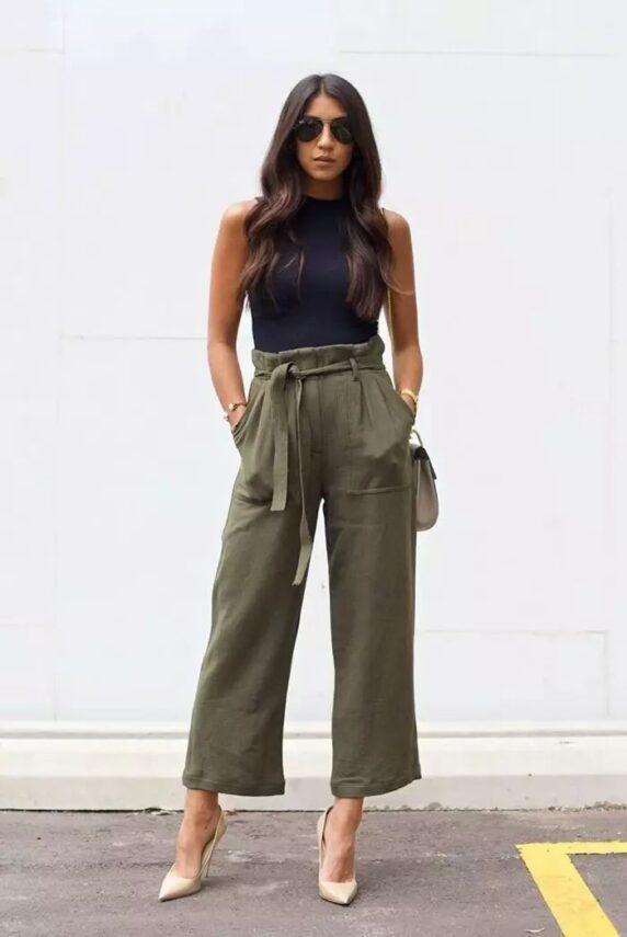 Tips claves para lucir unos pantalones anchos y dominar el street style