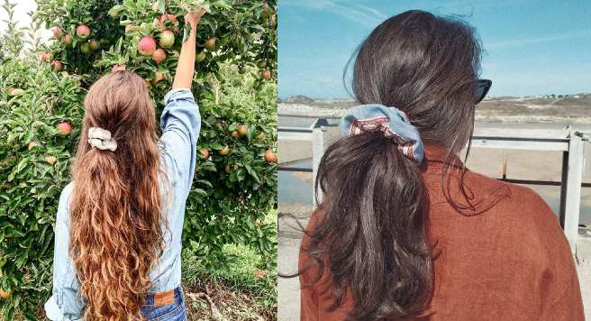 Formas para peinarte con donas para el cabello; tu accesorio favorito de los 90 regresa.