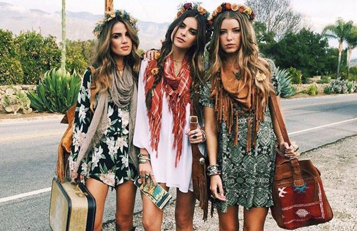 Vestidos que te harán sacar la chica 'hippie' que llevas dentro.