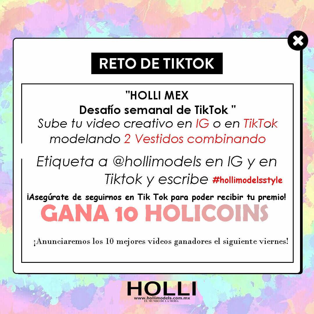 Desafío TikTok Hollimodels VESTIDOS