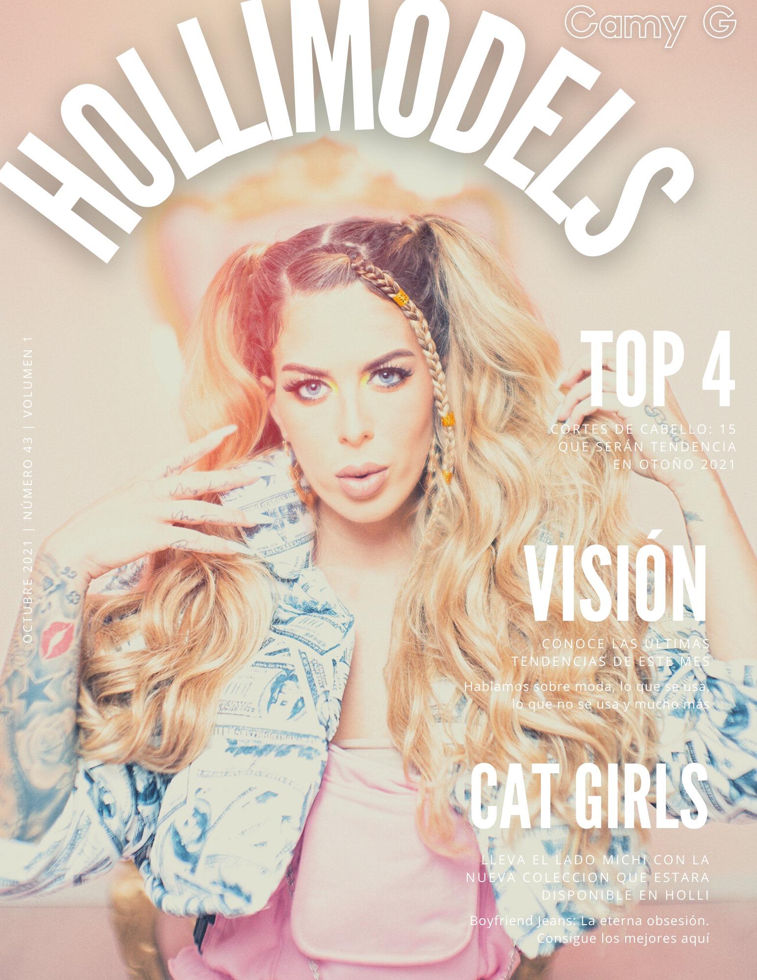 Revista Hollimodels Edición Famosos | En portada CAMY G