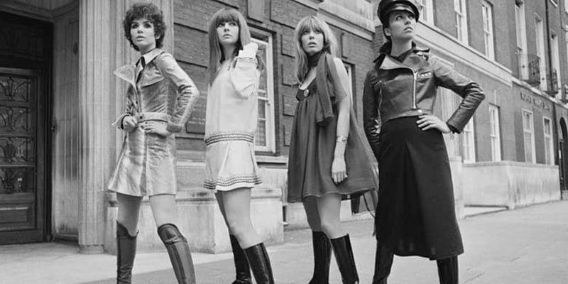 Como era la moda de los 60 | Mini Pasarela
