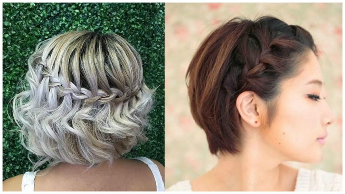 Increíbles peinados que las chicas de cabello corto amarán.